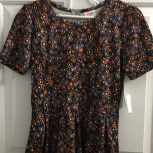 🎉💕BEAUTIFUL BNWT LULAROE LARGE AMELIA DRESS💕🎉